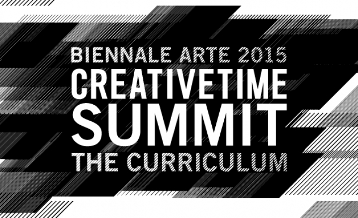 Live Streaming from ICA-Sofia Gallery of THE 2015 CREATIVE TIME SUMMIT: THE CURRICULUM AT THE BIENNALE ARTE 2015