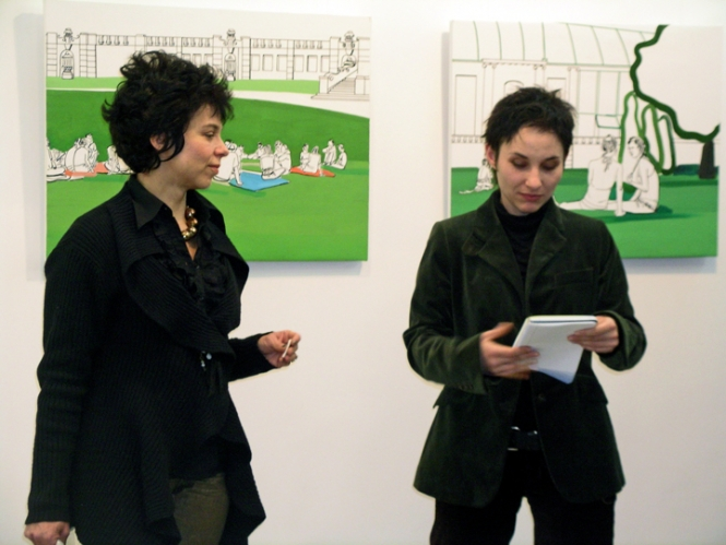 The Winner of The Essential Reading for Art Writers Award for 2007 is Boryana Dragoeva-Rossa